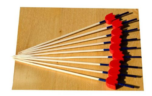 Red Tulip Blue Stalk wood skewer 12cm x100 – GOTO